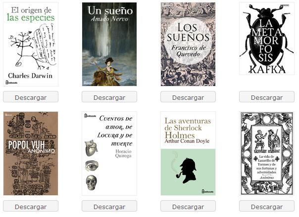 Tapas de libros