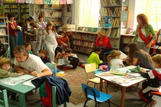 Sala de Lectura de la Biblioteca La Nube