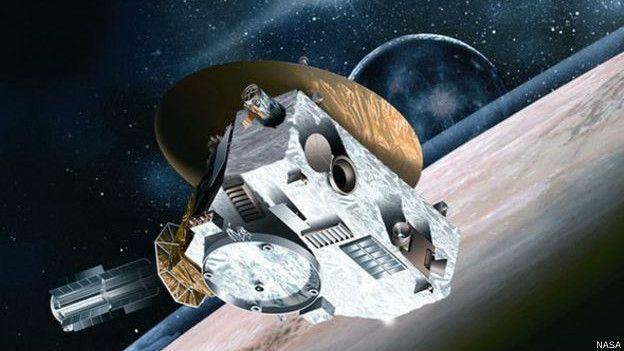 New Horizons fue lanzada al espacio en 2006 - NASA