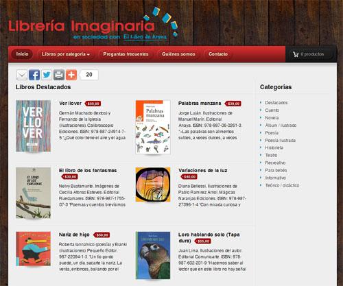 Librería Imaginaria Virtual