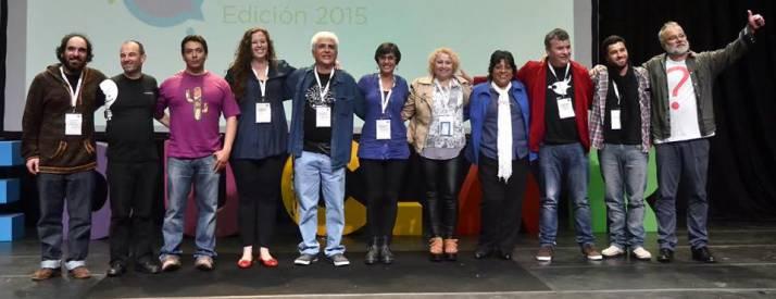 Los docentes y especialistas «Protagonistas de la Educación» 2015