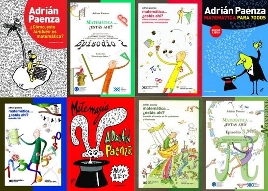 Libros de Adrián Paenza