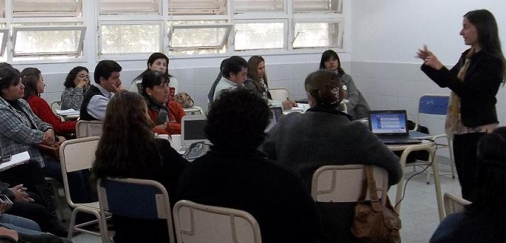 Docentes riojanos se capacitan en los talleres disciplinares