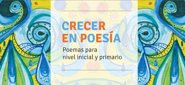 Imagen para la colección de poesía para nivel inicial y primario.