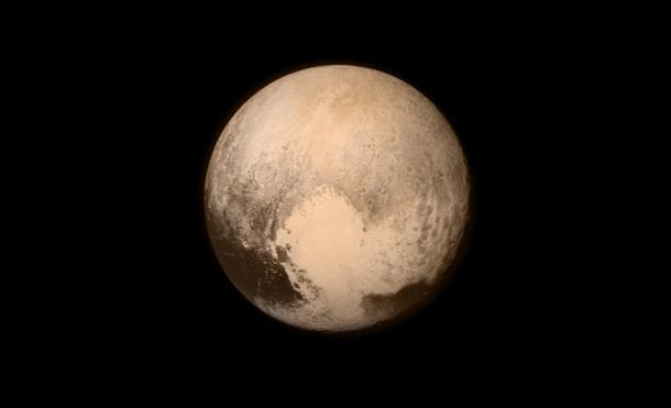Primera foto de Plutón en alta resolución