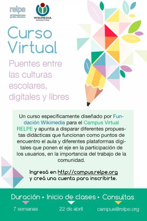 curso virtual relpe y wikimedia