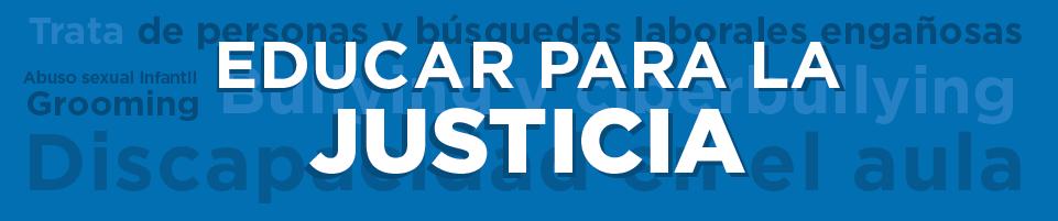 Educar para la justicia