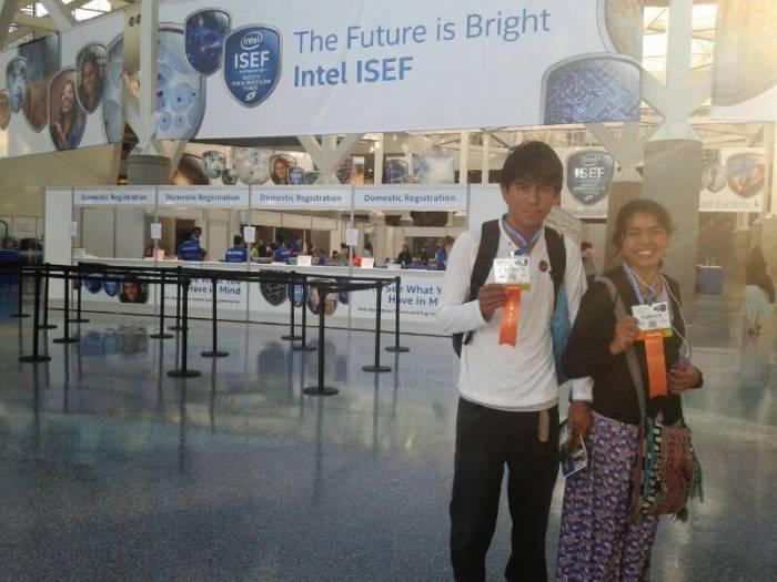 Estudiantes wichí fueron premiados por la feria Intel de EEUU