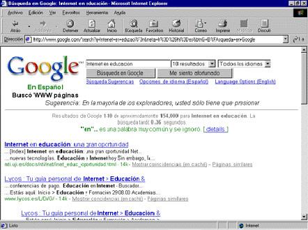 B squeda de informaci n til en internet for Paginas web para buscar piso
