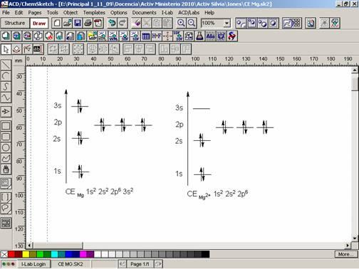 Educ represntenlo con las herramientas del programa writer word o acdchemsketch de sus equipos porttiles urtaz Choice Image