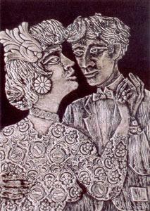 Obra de Berni - Ramona baila el tango